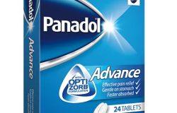 معلومات و سعر دواء PANADOL ADVANCE بانادول أدفانس خافض للحرارة و مسكن