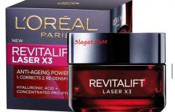 سعر و فوائد ريفيتاليفت revitalift laser x3 من لوريال باريس لمظهر شاب لبشرتك
