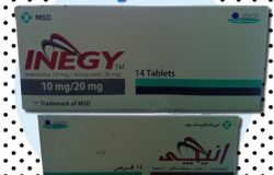 سعر و إرشادات دواء إنيجي INEGY للكوليسترول