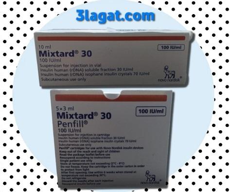 دواء ميكستارد mixtard سعر و إرشادات الإستخدام لمرضى السكر