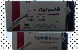 سعر و إرشادات فاموتين Famotin للقرحة و إرتجاع المريء