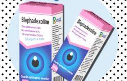 قطرة بليفاديكسولين Blephadexoline مضاد حيوي لإلتهاب العين
